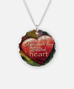 Begin Each Day Necklace