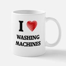 I love Washing Machines Mugs