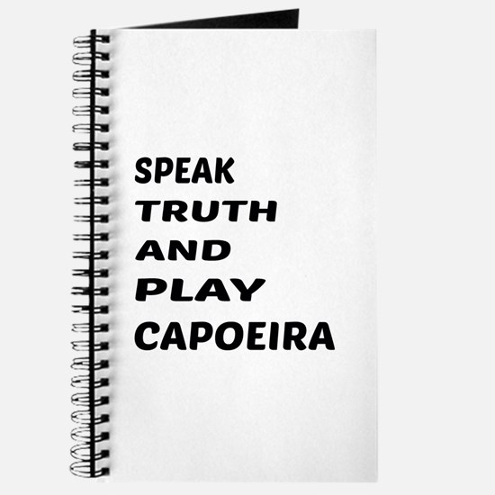 Speak Truth And Play Capoeira Journal