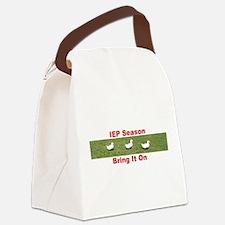 IEP Ducks in a Row Canvas Lunch Bag