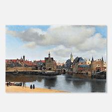 Vermeer Delft Postcards (Package of 8)