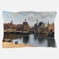 Vermeer Delft Pillow Case