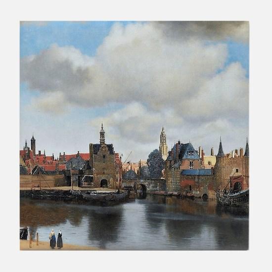 Vermeer Delft Tile Coaster