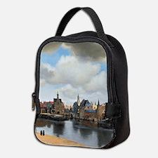 Vermeer Delft Neoprene Lunch Bag