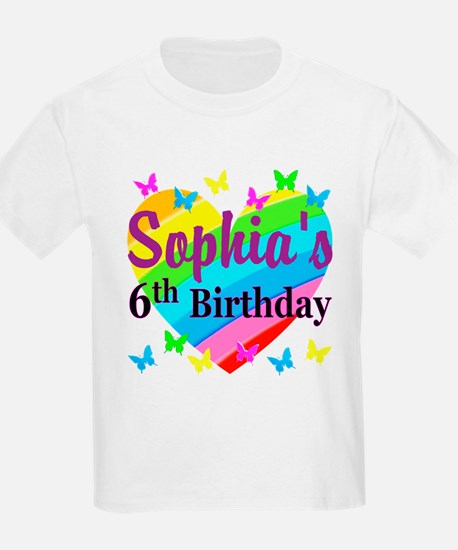 PERSONALIZED 6TH T-Shirt