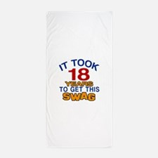 It Took 18 Years To Get This Swag Beach Towel