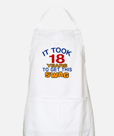 It Took 18 Years To Get This Swag Apron