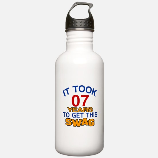 It Took 07 Years To Ge Water Bottle