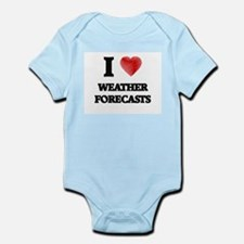 I love Weather Forecasts Body Suit