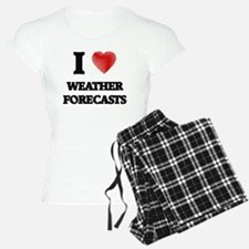 I love Weather Forecasts pajamas