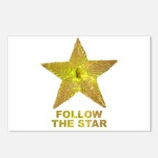follow the star Postcards (Package of 8)