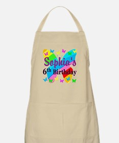 PERSONALIZED 6TH Apron