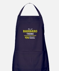 It's A BARBARO thing, you wouldn't un Apron (dark)