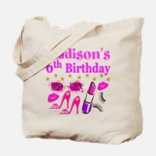 PERSONALIZED 6TH Tote Bag