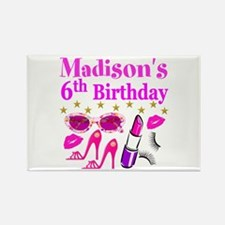 PERSONALIZED 6TH Rectangle Magnet