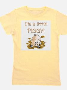 Funny Piggy Girl's Tee
