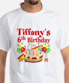 PERSONALIZED 6TH Shirt