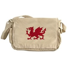 Welsh Dragon Messenger Bag