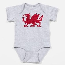 Welsh Dragon Baby Bodysuit