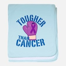 Tougher Than Cancer baby blanket