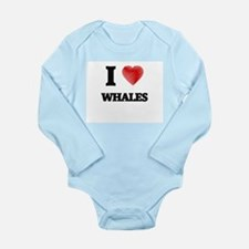 I love Whales Body Suit