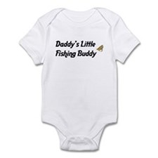 Daddy's Little Fishing Buddy Infant Bodysuit