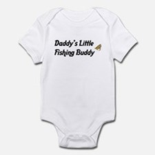 Daddy's Little Fishing Buddy Onesie