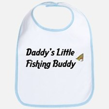 Daddy's Little Fishing Buddy Bib