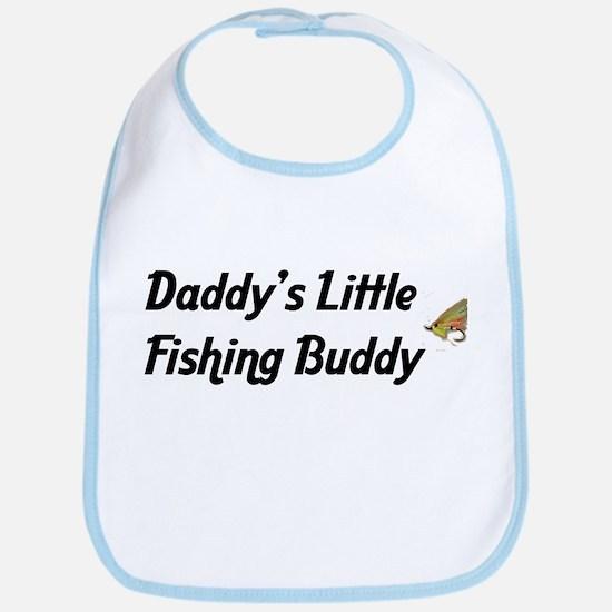 Daddy's Little Fishing Buddy Bib
