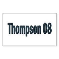 Fred Thompson 08 Rectangle Decal