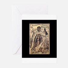 Virgen de Guadalupe - Posada Woodcut Greeting Card
