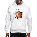 Ladybug Beetle (Front) Hooded Sweatshirt