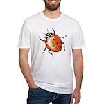 Ladybug Beetle Fitted T-Shirt