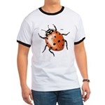 Ladybug Beetle (Front) Ringer T
