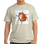 Ladybug Beetle Ash Grey T-Shirt