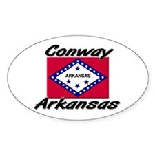 Conway Arkansas Oval Decal