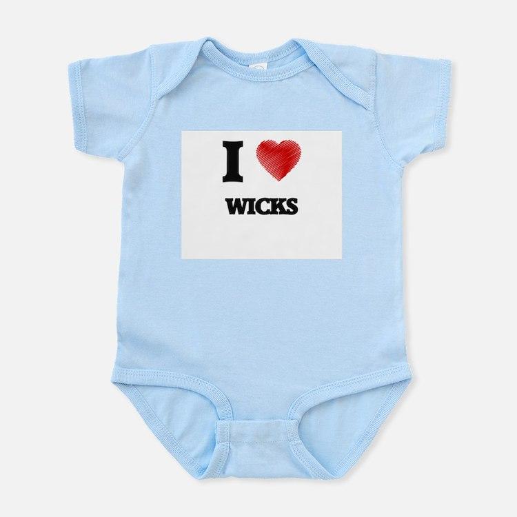 I love Wicks Body Suit