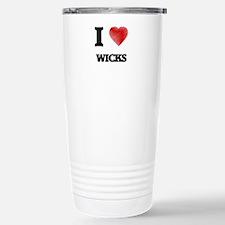 I love Wicks Travel Mug