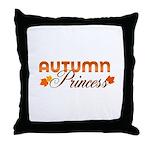 Autumn Princess Throw Pillow