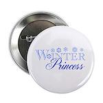 Winter Princess Button