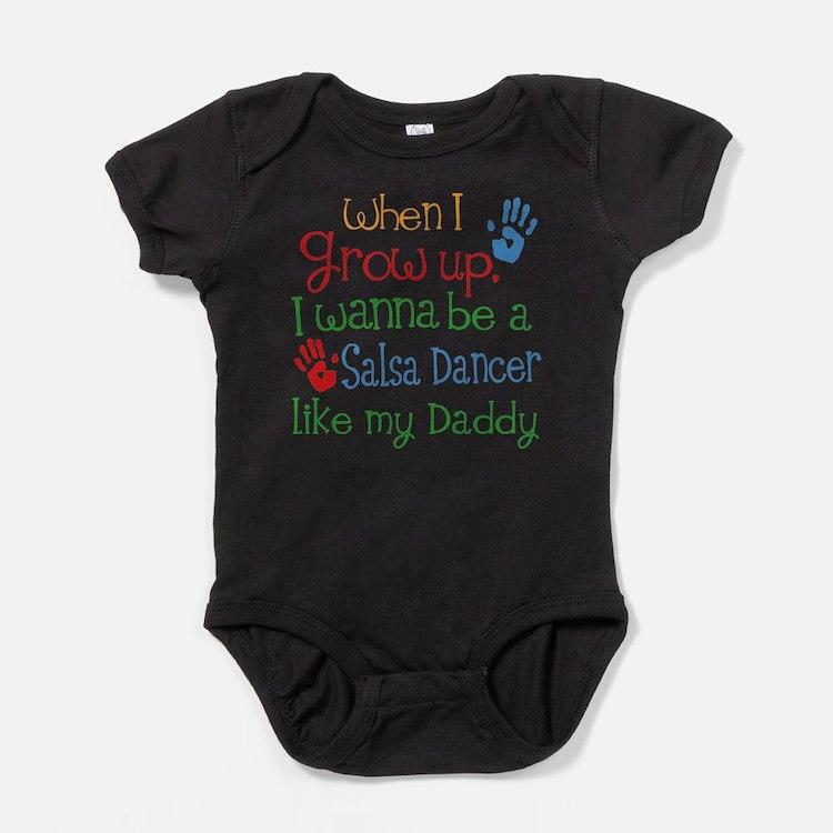 Salsa Dancer Like Daddy Baby Bodysuit