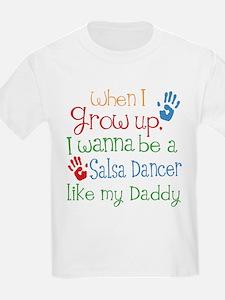 Salsa Dancer Like Daddy T-Shirt
