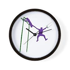 Comedic Trapeze Wall Clock