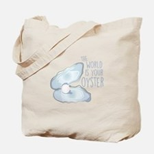 World Is Oyster Tote Bag