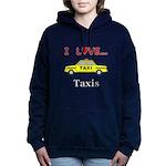 I Love Taxis Women's Hooded Sweatshirt