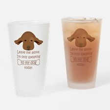 Funny Rescue me Drinking Glass