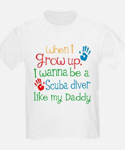 Scuba Diver Like Daddy T-Shirt