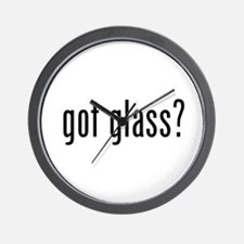 Funny Glass Wall Clock