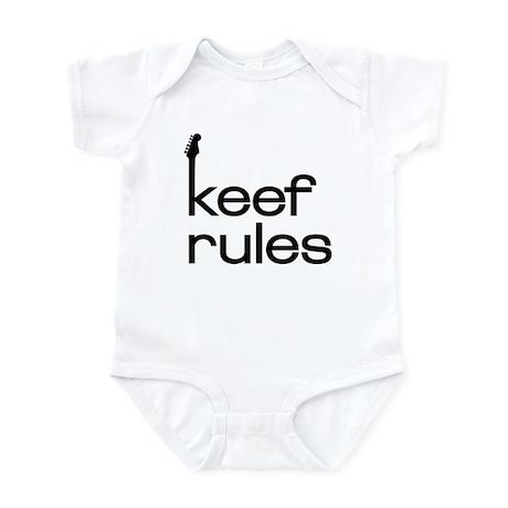 KEEF RULES Infant Bodysuit