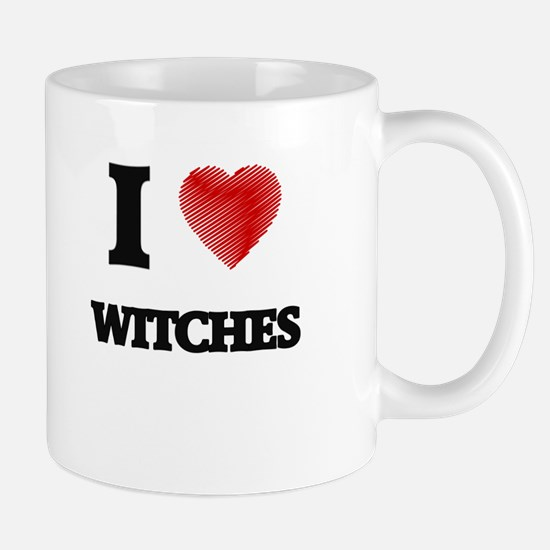 I love Witches Mugs